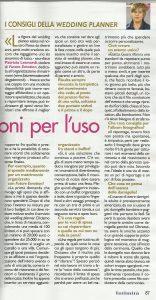 settimanale intimità, intervista a patrizia leonardi
